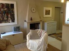 Salon mit Karmin, Ferienwohnungen Casa Schiavoni, Capoliveri, Insel Elba