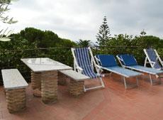 Terrasse, Ferienhaus Casa Gaia-Trilocale, Capoliverie, Insel Elba