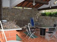 Außenbereich mit Küche, Ferienhaus Casa Gaia-Trilocale, Capoliverie, Insel Elba