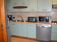Küche, Ferienhaus Casa Gaia-Trilocale, Capoliverie, Insel Elba