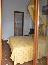 Schlafzimmer, Ferienhaus Casa Gaia-Trilocale, Capoliverie, Insel Elba