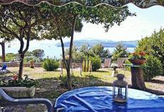 Panoramablick bis nach Korsika, Ferienhaus Casa Minicucci, Capoliverie, Insel Elba