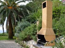 Grill, Ferienhaus Villa Gaia, Capoliverie, Insel Elba