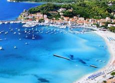 Sandstrand, Ferienwohnung Benedetta, Marina di Campo, Insel Elba