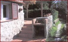 Ferienwohnung Casa Stefania, Terrasse