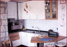 Ferienwohnung Casa Stefania, Wohnküche