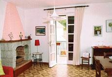 Wohnzimmer, Ferienwohnung Villa Jutta, Seccheto/Marmeggi, Insel Elba
