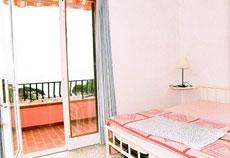 Schlafzimmer, Ferienwohnung Villa Jutta, Seccheto/Marmeggi, Insel Elba