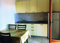 Wohnküche, Ferienhaus Seccheto-Affricanello, Seccheto, Insel Elba