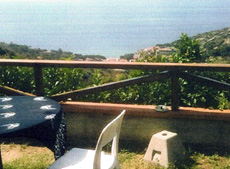 Terasse, Ferienhaus Seccheto-Villetta, Seccheto, Insel Elba