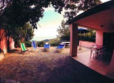 Terrasse, Ferienhaus Seccheto-Villina, Seccheto, Insel Elba