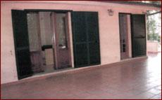 Ferienhaus Seccheto-Villotto, Terrasse